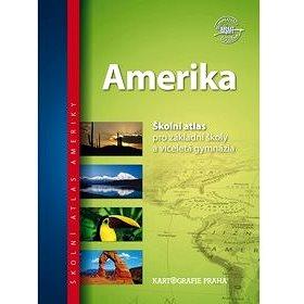 Amerika Školní atlas - Kniha