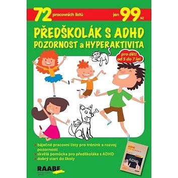 Předškolák s ADHD Pozornost a hyperaktivita - Kniha