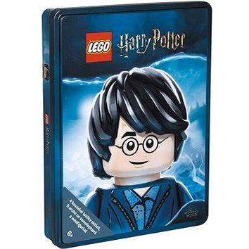LEGO Harry Potter: 4 knihy a minifigurka v dárkové plechové krabičce