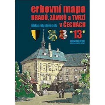 Erbovní mapa hradů, zámků a tvrzí v Čechách 13