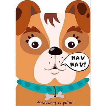 Vymaľovanky so psíkom Hav Hav! - Kreativní sada