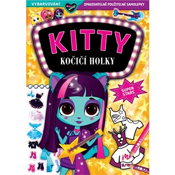 KITTY Kočičí holky Superstars - Kniha