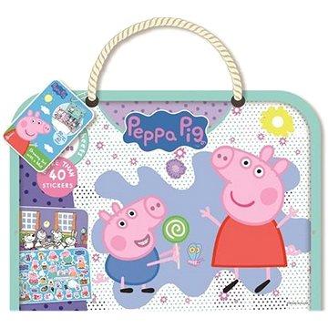 Kreslící blok s podložkou Peppa Pig - Kniha