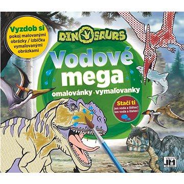 Vodové mega omalovánky Dino - Kreativní sada