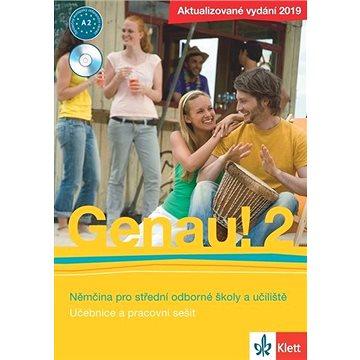 Genau! 2 Němčina pro střední odborné školy a učiliště: Učebnice, pracovní sešit, CD