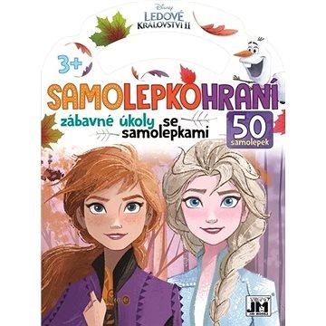 Samolepkohraní Ledové království: zábavné úkoly se samolepkami - Kniha