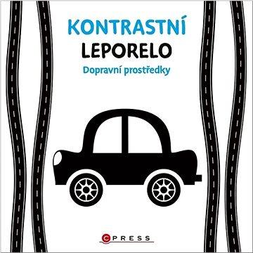 Kontrastní leporelo Dopravní prostředky - Kniha