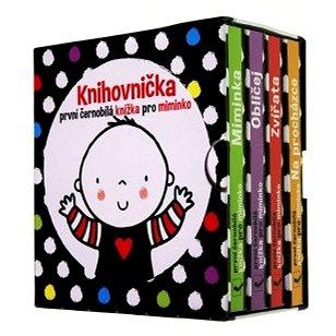 První černobílé knížky pro miminko: Knihovnička - Kniha