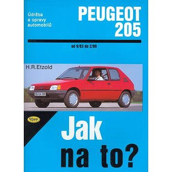 Peugeot 205 od 9/83 do 2/99: Údržba a opravy automobilů č. 6