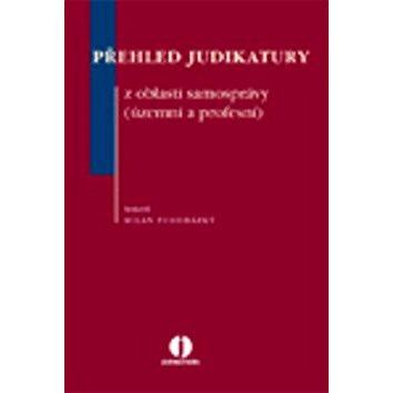 Přehled judikatury z oblasti samosprávy: územní a profesní