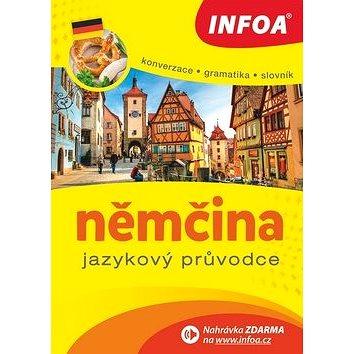 Kniha Němčina Jazykový průvodce: Konverzace Gramatika Slovník