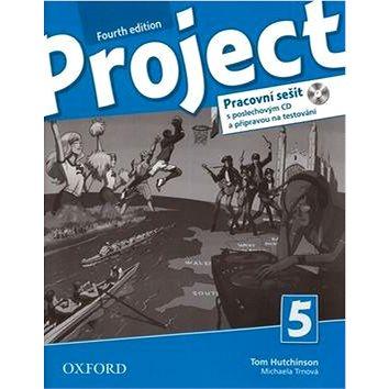 Project Fourth Edition 5 Pracovní sešit: S poslechovým CD a přípravou na testování - Kniha