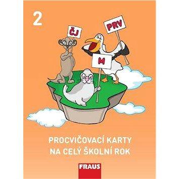 Procvičovací karty na celý školní rok 2: Český jazyk, matematika, prvouka - Kniha