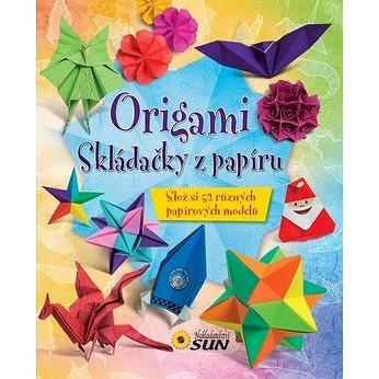 Origami skládačky z papíru - Kniha