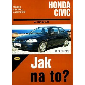Honda Civic od 10/87 do 12/00: Údržba a opravy automobilů č. 64
