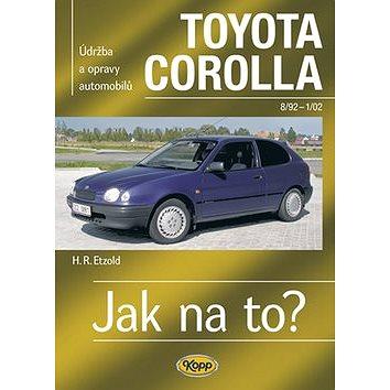 Toyota Corolla od 8/92 - 1/02: Údržba a opravy automobilů č. 88