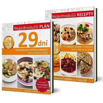 Kuchařky Nejjednodušší plán 29 dní a Nejjednodušší recepty