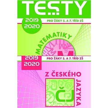 Testy 2019-2020 z českého jazyka a matematiky pro žáky 5. a 7. tříd ZŠ - Kniha