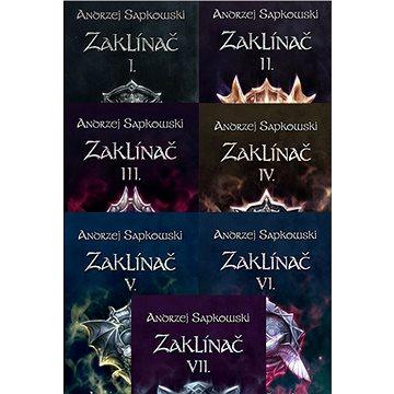 Zaklínač komplet brožovaná série