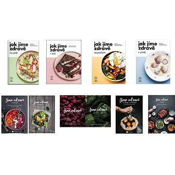Balíček všech 9 kuchařek Jak jíme zdravě a Jíme zdravě za výhodnou cenu