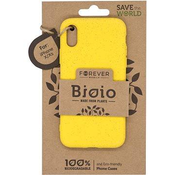 Forever Bioio pro iPhone X/XS žlutý - Kryt na mobil