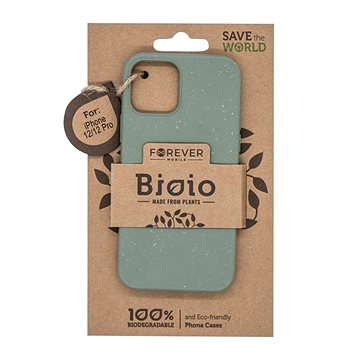 Forever Bioio pro Apple iPhone 12/iPhone 12 Pro zelený - Kryt na mobil