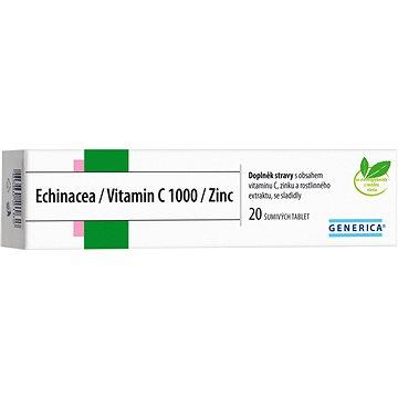 Echinacea/Vitamin C 1000/Zinc eff. tbl. 20 - Echinacea