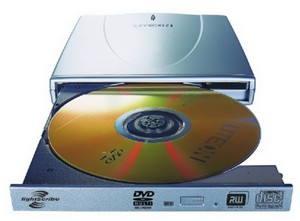 Lite-On SSM-85H5SX stříbrná (silver) - DVD±R 8x, DVD+R9 4x, DVD-R DL 4x, DVD-RAM 5x, externí USB2.0  - DVD vypalovačka