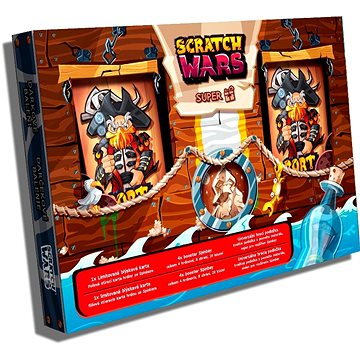 Scratch Wars - Dárkové balení Spinbay - Karetní hra