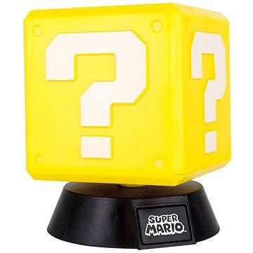 NINTENDO - 3D Lamp Super Mario Question Block - Stolní lampa