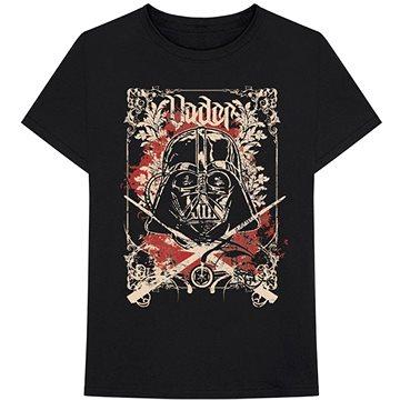 Star Wars - Vader Décor - tričko XXL - Tričko