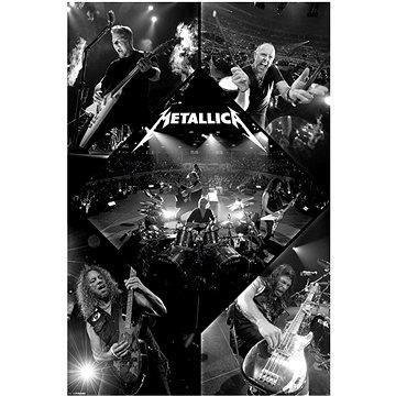 Metallica - Live - plakát 65 x 91,5 cm - Plakát