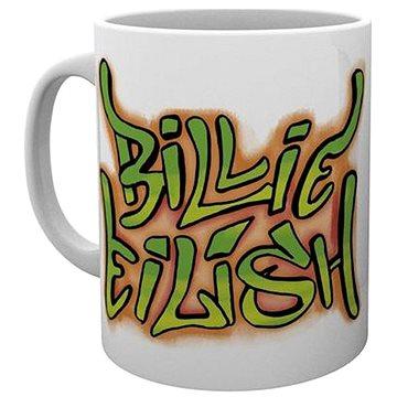 Billie Eilish - Graffiti - hrnek - Hrnek