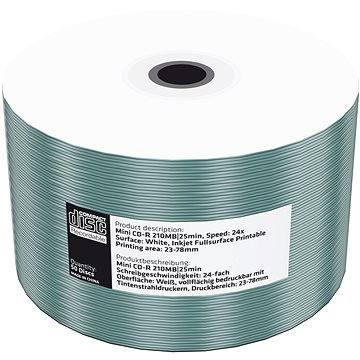 Mediarange CD-R 8cm 200 MB 24x folie 50 ks Inkjet Printable - Média