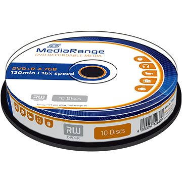 Mediarange DVD+R 4.7 GB 16x spindl 10 ks - Média