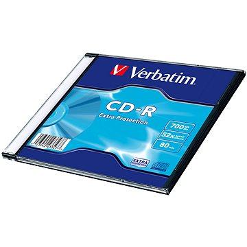 VERBATIM CD-R 700MB, 52x, slim case 200 ks - Média
