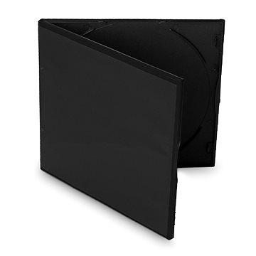 Cover IT Krabička slim na 1ks - černá,10ks/bal - Obal na CD/DVD