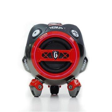 Gravastar Venus, červená - Bluetooth reproduktor