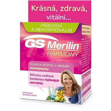 GS Merilin Harmony tbl. 60+30 2017 ČR/SK - Doplněk stravy