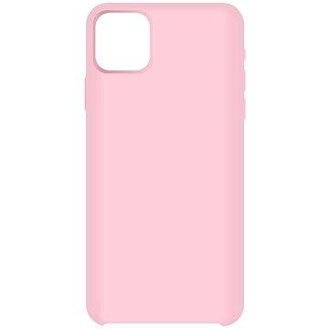 Hishell Premium Liquid Silicone pro Apple iPhone 12 Pro Max růžový - Kryt na mobil