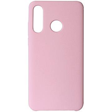 Hishell Premium Liquid Silicone pro Huawei P30 Lite růžový - Kryt na mobil