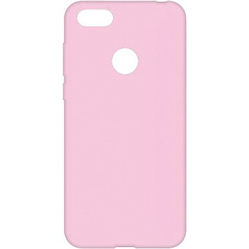 Hishell Premium Liquid Silicone pro Motorola Moto E6 Play růžový - Kryt na mobil