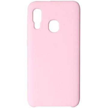 Hishell Premium Liquid Silicone pro Samsung Galaxy A20e růžový - Kryt na mobil