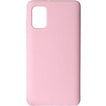 Hishell Premium Liquid Silicone pro Samsung Galaxy A41 růžový - Kryt na mobil