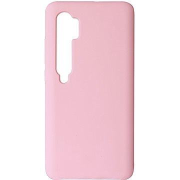 Hishell Premium Liquid Silicone pro Xiaomi Mi Note 10 / 10 Pro růžový - Kryt na mobil