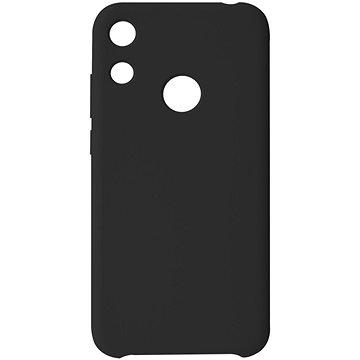 Hishell Premium Liquid Silicone pro Honor 8A / Huawei Y6s černý - Kryt na mobil