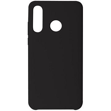Hishell Premium Liquid Silicone pro Huawei P30 Lite černý - Kryt na mobil