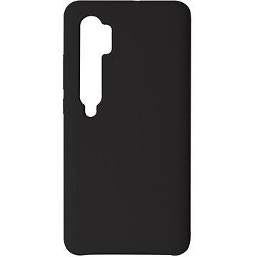 Hishell Premium Liquid Silicone pro Xiaomi Mi Note 10 / 10 Pro černý - Kryt na mobil