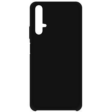 Hishell Premium Liquid Silicone pro Honor 20 / Huawei Nova 5T černý - Kryt na mobil
