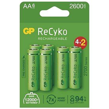 GP ReCyko 2700 AA (HR6), 6 ks - Nabíjecí baterie